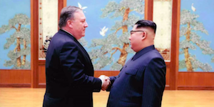 Pompeo and Jong-Un